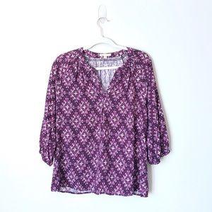 Anthropologie prints blouse